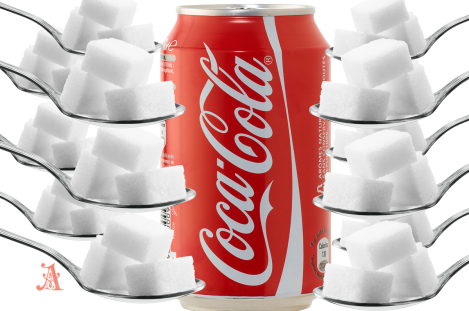 A can of Coca-Cola contain so much sugar that it should make you vomit
