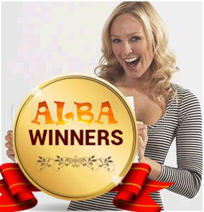 ALBA gift bag winners
