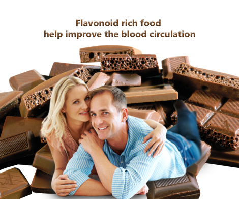Flavonoid rich food