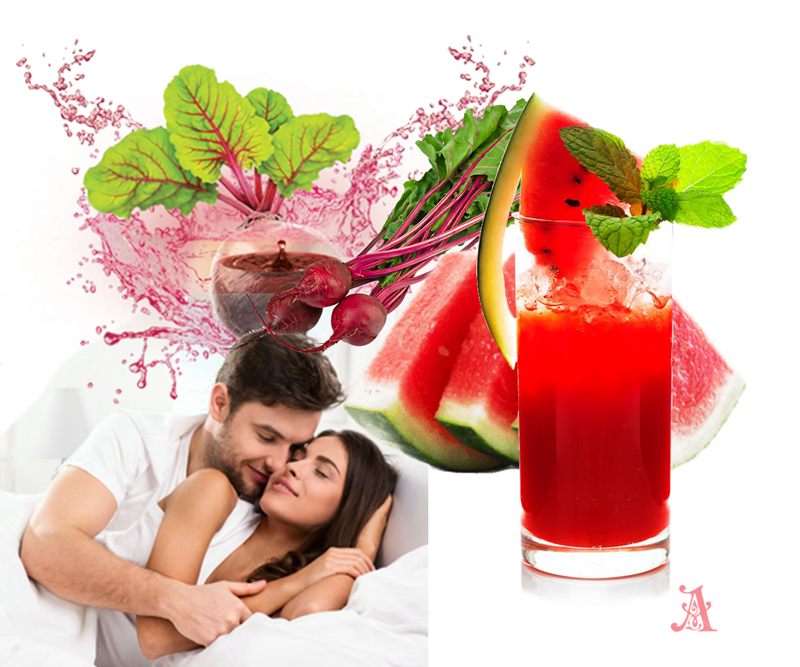 Watermelon and Beetroot juice a secret to bedroom satisfaction